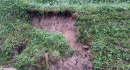 ~棚田の畦が崩れました~