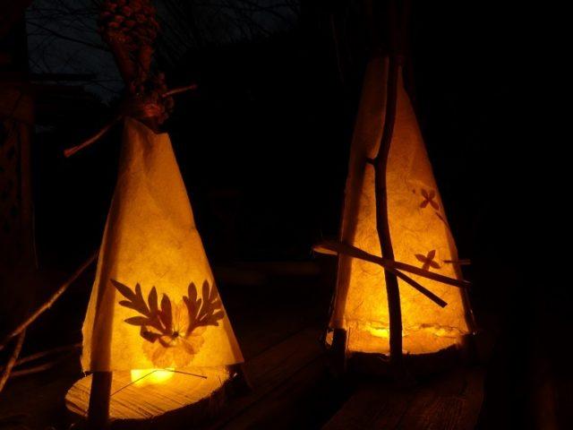 ~秋の夜長に 里灯りを添えて♪~