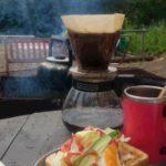 竹炭焙煎珈琲と共に