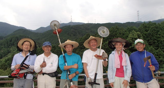 里山の達人たち