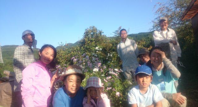 2017.9.30里山ボランティア①