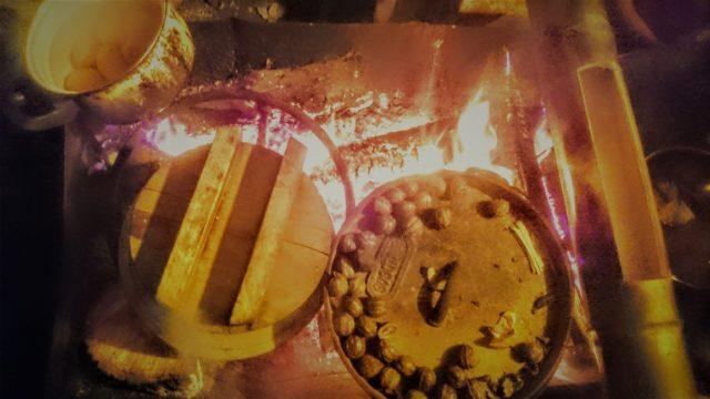2017.11.11③火床いっぱいのお料理