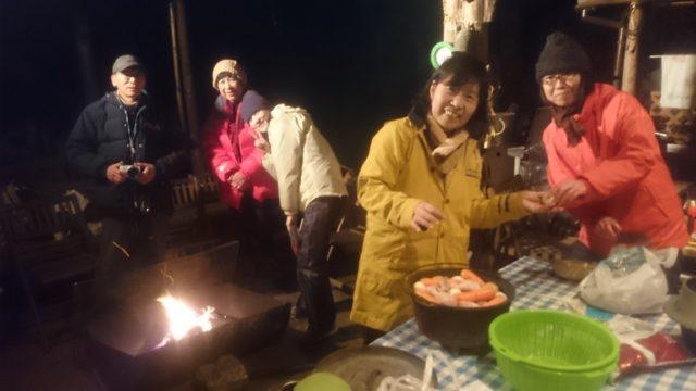 ~みんなで夕食作り~