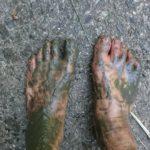裸足が一番?