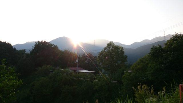 ~朝陽が昇る~