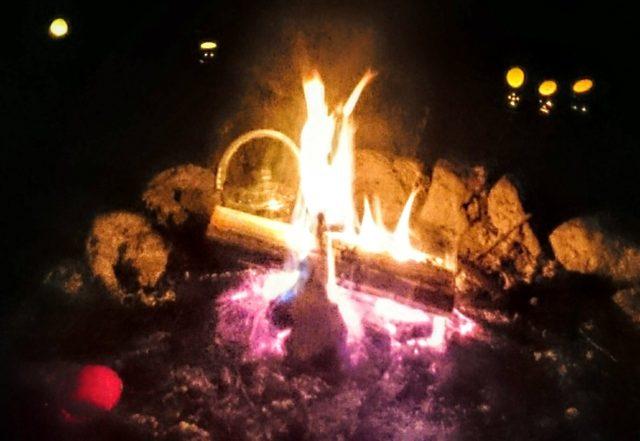 焚き火の時間