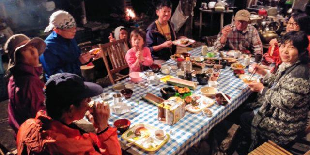 2018.10.13④賑やかな食卓