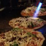 無農薬野菜のピザ