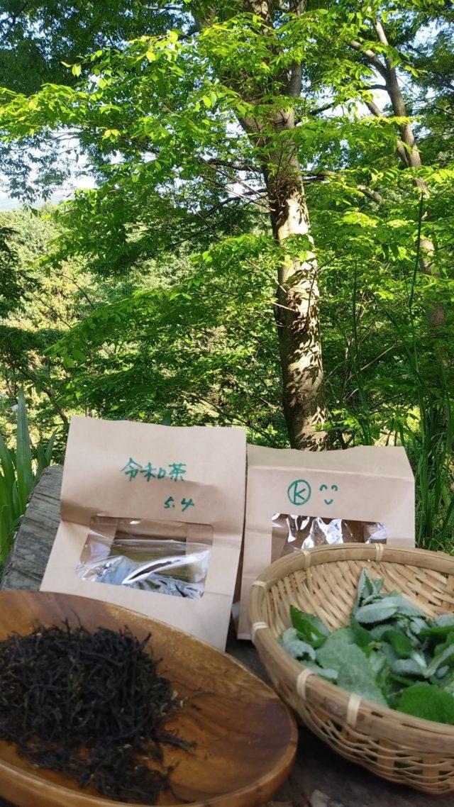 新茶の季節、新緑の里山で、Made in SATOYAMAの新茶の完成です。前日の草刈りでサポート下さった皆様に感謝を込めて