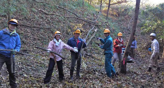 薪炭林の手入れ191201_41低解像
