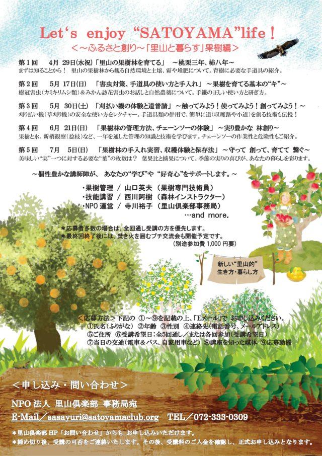 里山と暮らす応援講座2020春期 果樹編-02