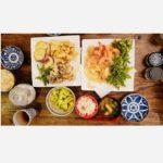 たけのこご飯と季節の天ぷら