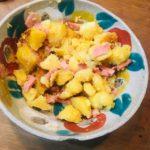 焼き豚ポテサラ