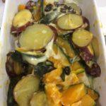 サツマイモとかぼちゃのヨーグルトサラダ