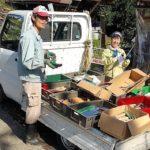 里山ボランティアの日あずまやの屋根葺き替え_手道具の棚卸し(在庫確認)2020113_201106_14