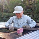 里山ボランティアの日あずまやの屋根葺き替え_手道具の棚卸し(在庫確認)2020113_201106_11