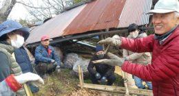 「たわわ果林組」立ち上がり記録(2021131堆肥と移植、道普請について.26土壌と剪定)_210220_2