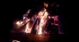 ~焚き火と星と おいしい時間~